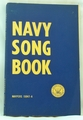 Sheet Music Book Navy Song Book 1958