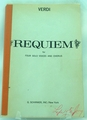 Verdi Requiem for Four Solo Voices and Chorus