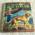1957 Little Golden Book Disney Old Yeller