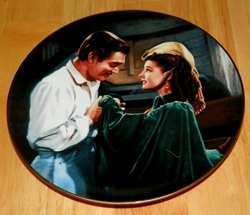 Gone With The Wind Collector Plate Scarlett Asks A Favor Out of Stock