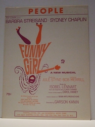 People Funny Girl Barbra Streisand - Sheet Music