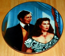 Gone With The Wind Collector Plate The Smitten Suitor Out of Stock