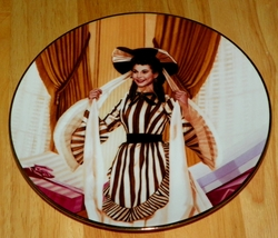 Gone With The Wind Collector Plate Scarlett's Shopping Spree Out of Stock