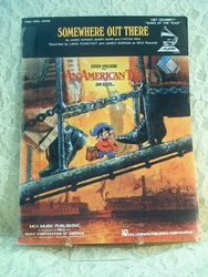 Sheet Music Somewhere Out There An American Tail