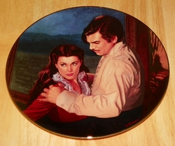 Gone With The Wind Collector Plate Dangerous Attraction