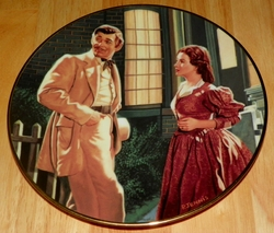 Gone With The Wind Collector Plate End of an Era