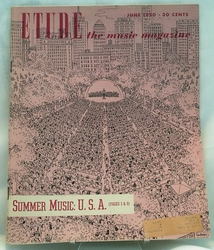 Etude The Music Magazine 1950 June