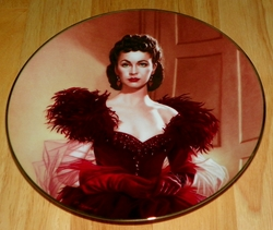 Gone With The Wind Collector Plate Pride and Passion Out of Stock