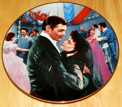 Gone With The Wind Collector Plate The Waltz