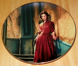 Gone With The Wind Collector Plate Brave Scarlett Out of Stock