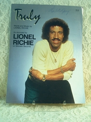 Sheet Music Truly Lionel Richie