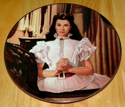 Gone With The Wind Collector Plate Evening Prayers