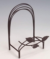 Leaf Motif Iron Easel Out of Stock