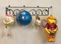 Brass Finish Hanging Ornament Displayer