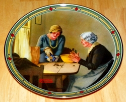 Collector Plate A Family's Full Measure Norman Rockwell American Dream