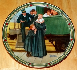 Collector Plate An Orphan's Hope Norman Rockwell American Dream Series SOLD