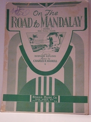 On The Road To Mandalay - Sheet Music