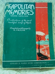 Sheet Music Book Neapolitan Memories
