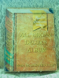 Sheet Music Book All Organ Deluxe Album