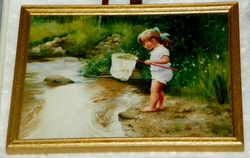Donald Zolan Framed Miniature Crystal's Creek 3rd issue