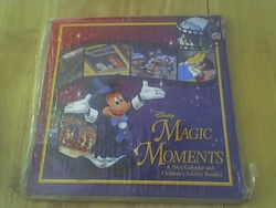 Disney Collectible Magic Moments Calendar 2001 Complete SOLD