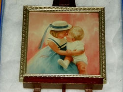 Donald Zolan Framed Miniature Mother's Angels 5th issue