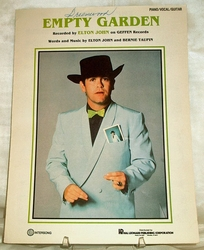 Sheet Music Empty Garden Elton John