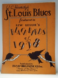 St. Louis Blues– Sheet Music