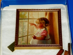 Donald Zolan Framed Miniature It's Grandma and Grandpa 4th issue