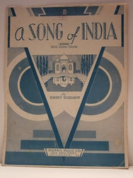 A Song of India - Sheet Music