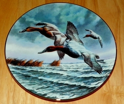 1990 Plate CANVASBACKS  Series Name Federal Duck Stamps SOLD