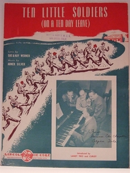 Ten Little Soldiers (On A Ten Day Leave) - Sheet Music