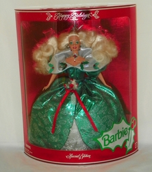 Barbie Doll Happy Holidays 1995  Special Edition