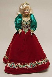 Holiday Jewel 1995 Porcelain Barbie Doll NRFB