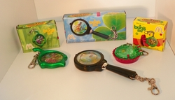 Disney's Pixar A Bug's Life Set of 3 Clip Tock Watch Collection from McDonalds SOLD