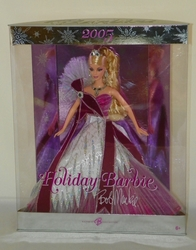 Barbie Doll Bob Mackie Holiday Barbie 2005  NRFB