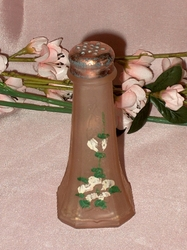 Pink Painted Shaker Mayfair Hocking Glass