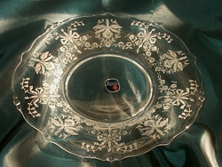 Heisey Waverly #1519 8 in Salad Plate Orchid Etch SOLD