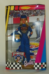 Barbie Doll 50th Anniversary Nascar Collector Edition 1998 NRFB