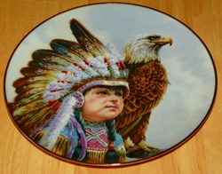 Collector Plate Proud Young Spirits Freedom's Watch