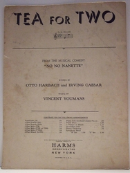 Tea For Two - Sheet Music