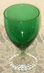 Anchor Hocking Forest Green 11 oz Goblet