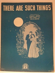 There Are Such Things - Sheet Music