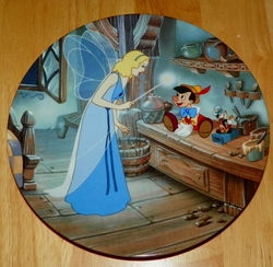 Disney Collector Plate Pinocchio Disney Treasured Moments Collection