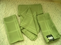 Microfiber Napkin Set of 4 - Moss Green