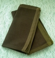 Pair of Chocolate Brown Table Napkins