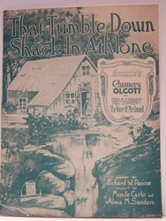That Tumble Down Shack In Athlone - Sheet Music
