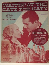 Waitin' At The Gate For Katy - Sheet Music