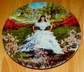 1978 Collector Plate Knowles Gone With The Wind Scarlett 1st Issue