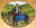 Gone With The Wind Collector Plate Rhett and Bonnie